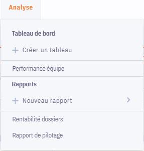 Rapport-01-menu-analyse